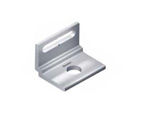 Aluminium concrete bracket 19,75x22,75x30mm