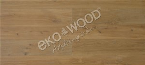 OAK 1-strip Classic, White, 4sides beveled/brushed 13,5x192x2150mm
